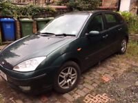 Ford Focus Zetec 54 plate, great condition, 101,000 miles 1.6l - quick sale needed
