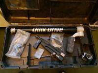 Quik Drive QD76KE Kit with Extensions for decking, drywall, great condition , comes with adapter