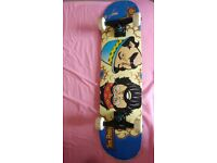 Limited edition cheech & chong Flip deck, 7.75 (USED HANDFUL OF TIMES ON FLAT)