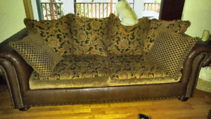 2 Couch's 1 Chair and Foot Stool