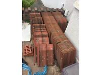 Roof tiles concrete