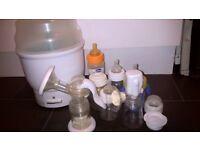 Advent Baby Bottle Steriliser Breast pumps Bottles with teats
