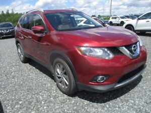 2014 Nissan Rogue SL TAN LEATHER! PUSH TO START! BACKUP CAMER...