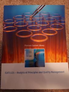 NAIT CLXT analytical principles textbook