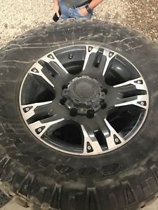 """Ultra Motor sport 17"""" rims with 285/70R17"""