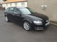BARGAIN 2011 AUDI A3 TDI SPORT NEWSHAPE SERVICE HISTORY £30 PER YEAR TAX PX WELCOME £3600