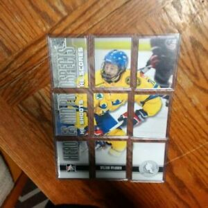 William Nylander Heroes and Prospect 9 card puzzle lot, LOOK