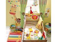 NEXT jungle nursery bedding set