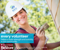 Volunteer with the Habitat for Humanity ReStore!