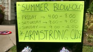 Multi-family Summer blowout  Garage Sale