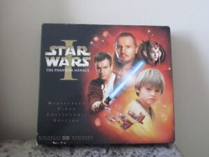 Star Wars:The Phantom Menace Limited Edition VHS