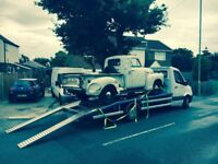 Car breakdown recovery and nationwide vehicle transportation
