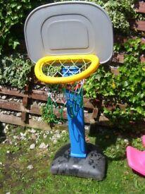 outdoor basket ball net for younger children