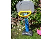 outdoor basket ball net for younger children