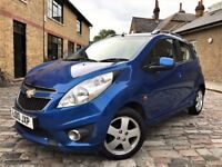 Chevrolet Spark 1.2 LT 5dr p/x welcome **FULL S/H**6 MONTHS WARRANTY CAT 2010 (10 reg), Hatchback