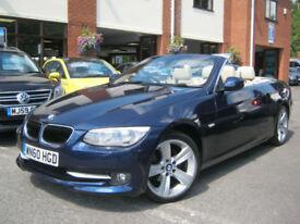2010 60-Reg BMW 320i SE Convertible,GEN 34,000 MILES!!! BIG SPEC,,FULL BMW HIST!