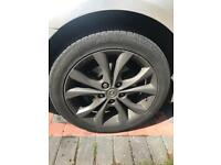 Mazda 3 sport alloy wheels