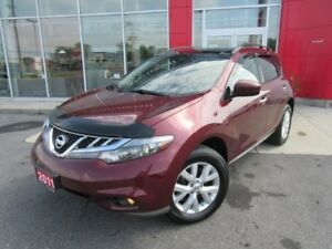 2011 NISSAN MURANO SL AWD LUXURY PKG LEATHER PANA ROOF CAMERA H-