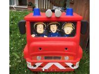 Ride on toy car fire engine fire man sam