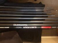 Shimano Catana 13m pole with 3 top kits