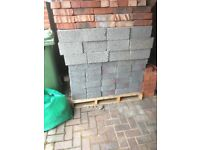 Approx 100 breeze blocks