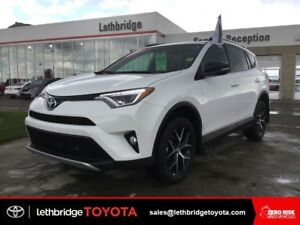 Toyota Certified 2016 Toyota RAV4 SE AWD - NAV! LEATHER! SUNROOF
