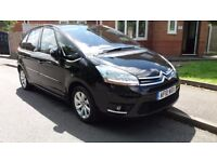 Citroen C4 Picasso Exclusive 1.6HDi Auto. Black. Includes Bluetooth and Rear Parking Sensors