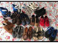 Bundle of boys shoes/ trainers size 2. Nike Addidas Timberland etc
