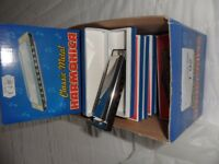 18 Harmonicas, individually boxed, unused