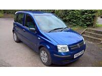 Blue 2008 1.2 Fiat Panda Dynamic Remote Central Locking Pioneer Bluetooth Stereo