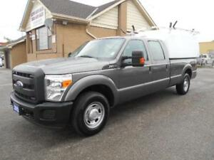 2012 FORD F250 XL Super Duty Crew Cab 8Ft Box Space Cap ONLY 38K