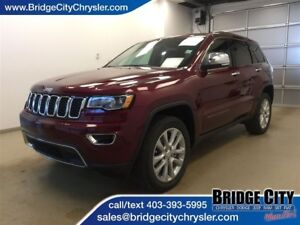 2017 Jeep Grand Cherokee Limited- Leather, Sunroof, Heated Seats