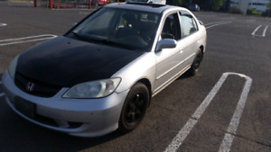Honda civic 2005 as is