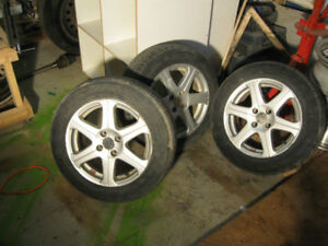 3 honda civic aluminum rims