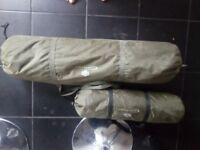 JRC contact 2 man bivvy with nearly new winter.skin