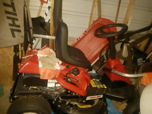 "Troy-Built riding lawn mower 30"" cut"