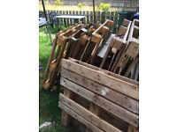 10 pallets different sizes