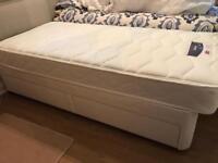 Divan single beds x 2 - as good as new £100 each