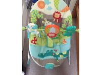 Baby bouncer still with tags on