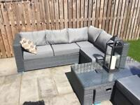 Garden furniture 8 Seater patio set . Only used once. Cost £600