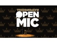 Open mic night acts needed !
