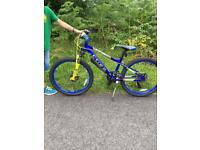 Boys Carrera blast mountain bike.