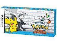 Pokemon Typing Adventure - Nintendo DS Game - * Brand New, Sealed * - UK Pal