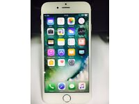 iPhone 6 unlocked 16gb Silver( Clean Phone) Used Phone with some cosmetic wear