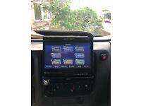 Stereo FM/CD/DVD and SAT NAV