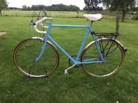 Men's Single Speed Road Town Urban Retro Bike Vintage Bicycle