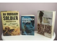 3 War Military Books. Afghanistan, Russian Front
