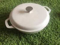 Large casserole pan denby