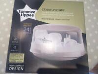 Tommee Tippee microwave steam steriliser - BRAND NEW