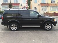 CAT D 2006 Mitsubishi Shogun Sport Warrior 2.5TD With 1 Years MOT, 59969 miles, lovely car.